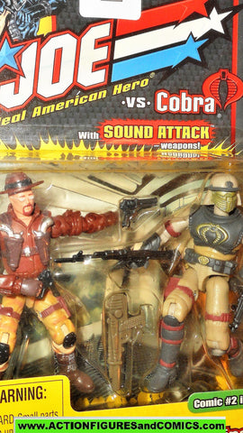 gi joe WILD BILL vs COBRA NEO-VIPER 2002 v5 v4 gijoe moc
