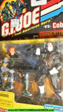 gi joe AGENT SCARLETT vs STORM SHADOW 2002 action figures moc mip mib
