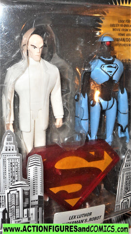 dc direct Superman Doomsday LEX LUTHOR ROBOT collectibles moc