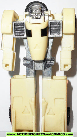 gobots CRASHER white MR-20 vintage tonka ban dai #1024