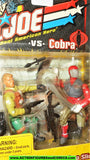 gi joe SURE FIRE vs Cobra RED NINJA SLICE 2002 v2 v4 gijoe moc