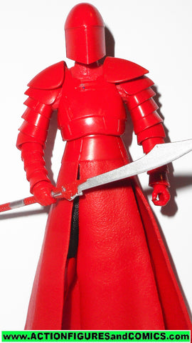 STAR WARS action figures ELITE PRAETORIAN GUARD 6 inch THE BLACK SERIES 2015 50