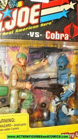 gi joe BIG BEN vs Cobra ALLEY VIPER 2002 cobra gijoe v3 v5 figure moc