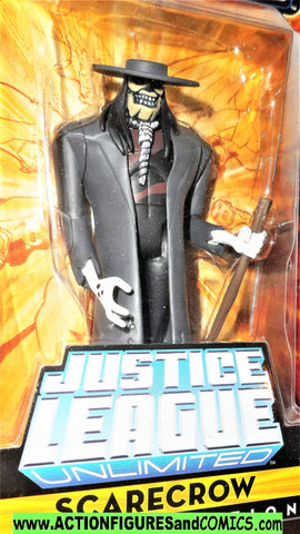 justice league unlimited SCARECROW batman animated dc universe moc