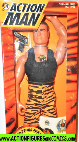 Action man TIGER STRIKE 12 inch gi joe 1996 force kenner  moc mib