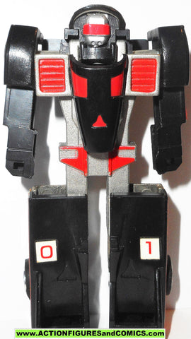 gobots CRASHER black MR-20 vintage tonka ban dai #1023