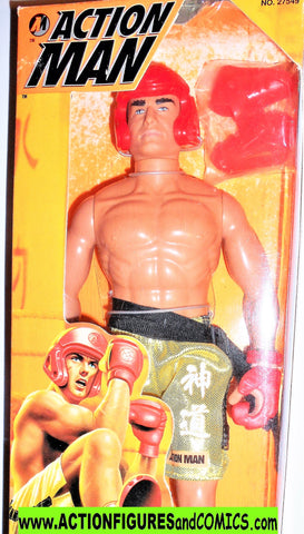 Action man KICKBOXER 12 inch gi joe 1996 force kenner  moc mib