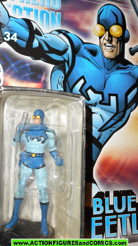 DC Eaglemoss chess BLUE BEETLE Ted Kord 34 dc universe super heroes