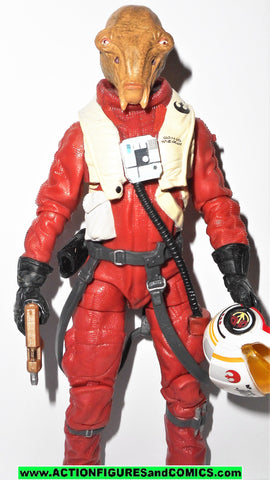 STAR WARS action figures ASTY X-WING PILOT 6 inch THE BLACK SERIES 2016