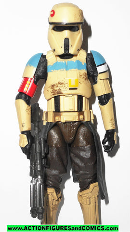 STAR WARS action figures SCARIF STORMTROOPER 6 inch THE BLACK SERIES 2015 28