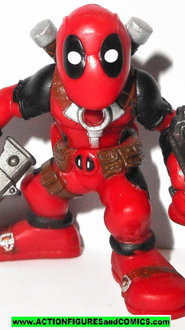 Marvel Super Hero Squad DEADPOOL 2010 Series 21 X-men force universe