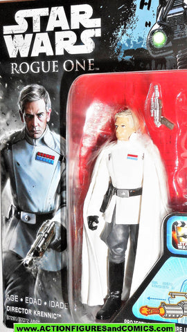 star wars action figures DIRECTOR KRENNIC complete 2016 3.75 inch moc