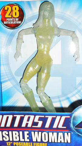 Fantastic Four INVISIBLE WOMAN movie 2005 toybiz action figure 4 mibmoc