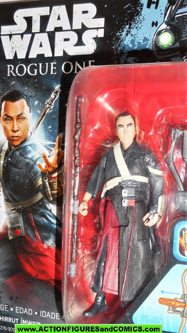 star wars action figures CHIRRUT IMWE blind force rogue one 2016 moc
