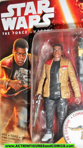 star wars action figures FINN jakku force awakens 2015 moc