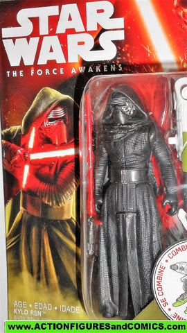 star wars action figures KYLO REN force awakens 2015 moc