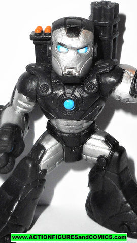 Marvel Super Hero Squad WAR MACHINE movie iron man 2 monger attacks