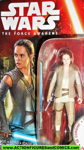 star wars action figures REY resistance outfit force awakens 2015 moc