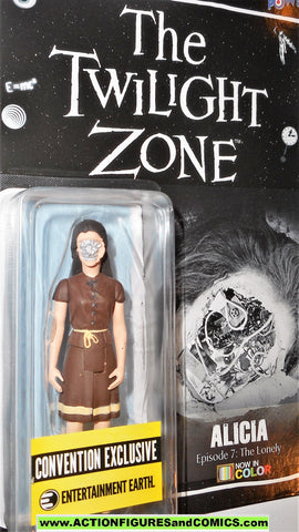Twilight Zone ALICIA color VARIANT only 672 the lonely moc