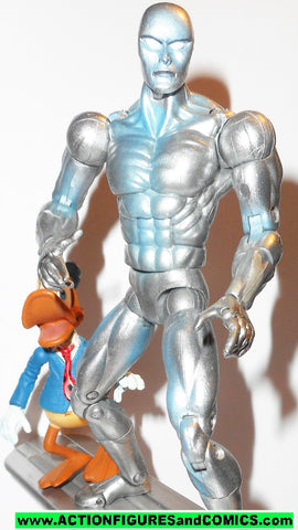 marvel legends SILVER SURFER series V 5 toy biz COMPLETE howard the duck 2005