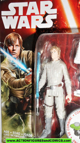 star wars action figures LUKE SKYWALKER bespin force awakens 2015 moc