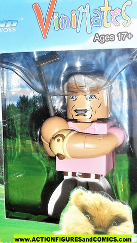 minimates Caddyshack JUDGE SMAILS 4 inch VINImates JUMBO movie moc mib