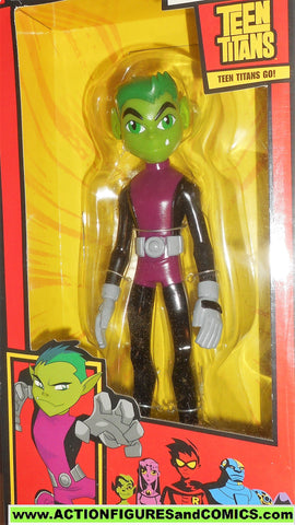 Teen Titans Go BEAST MAN 9 inch deluxe large animated 2005 moc mib