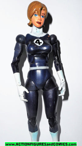 marvel legends INVISIBLE WOMAN fantastic four short hair 4 toy biz