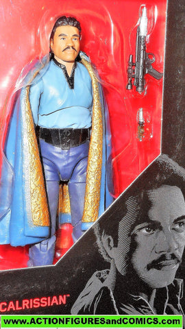 STAR WARS action figures LANDO CALRISSIAN 6 inch the Black Series 2017 39 moc mib