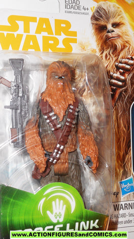 star wars action figure CHEWBACCA Solo force link 2017 last jedi