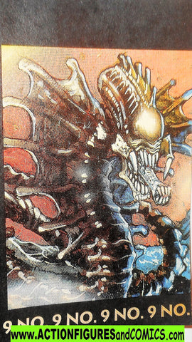 Aliens vs Predator kenner SNAKE ALIEN night strike mini comic 9
