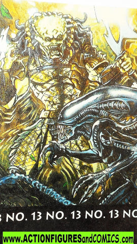 Aliens vs Predator kenner ULTIMATE BATTLE mini comic 12