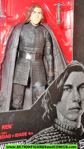 STAR WARS action figures KYLO REN 6 inch the Black Series 2017 45 moc mib