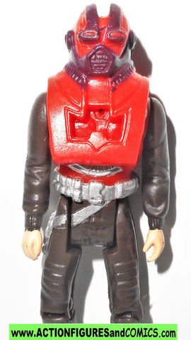 M.A.S.K. kenner MATT TRAKKER 1985 rhino LONG mask cartoon complete