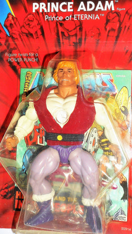 Masters of the Universe PRINCE ADAM vintage commemorative he-man motu moc