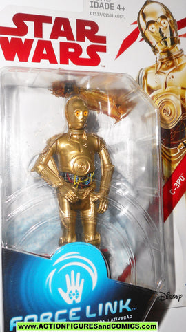 STAR WARS POWER OF THE FORCE C-3PO WITH REMOVABLE ARM FLASHBACK PHOTO MOSC