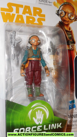 star wars action figures MAZ KANATA force link 2017 action figure