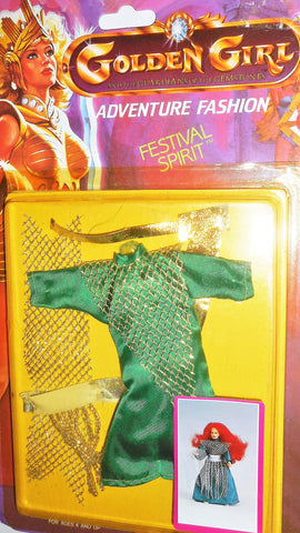 Golden Girl Adventure Fashion Festival spirit #24 JADE she-ra masters of the universe moc