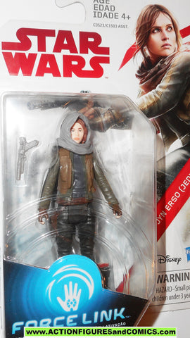 star wars action figures JYN ERSO JEDHA force link 2017 action figure