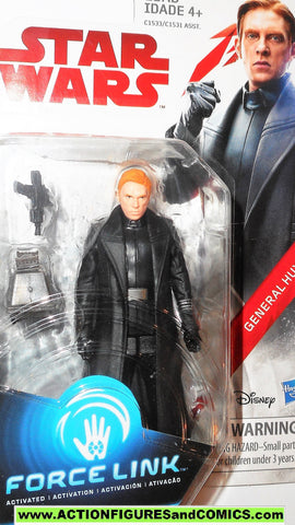 star wars action figures GENERAL HUX force link 2017 action figure