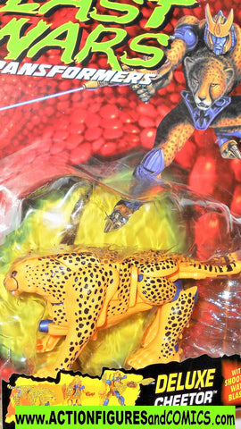 Transformers beast wars CHEETOR 1996 blue eyes ROCK BUBBLE cheetah moc