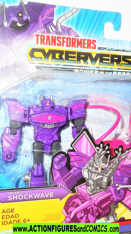 transformers cyberverse SHOCKWAVE Solar shot animated series moc