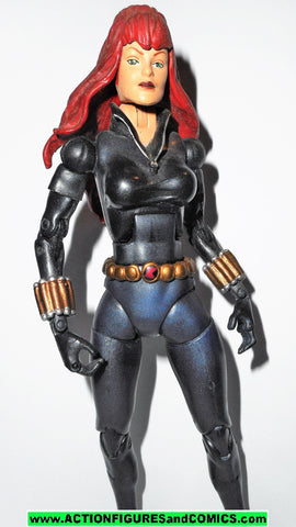marvel legends BLACK WIDOW series VIII 8 toybiz avengers fig