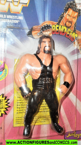 Wrestling WWF action figures DIESEL 1994 bend-ems justoys moc