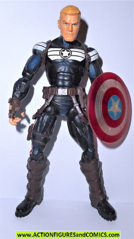 Marvel Legends STEVE ROGERS captain america VARIANT clear sheild terrax wave