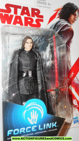 star wars action figures KYLO REN unmasked force link 2017
