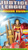 justice league unlimited WONDER WOMAN red cape mission vision dc universe jlu moc