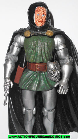 marvel legends DR DOOM burnt face variant fantastic four 4 gift pack set