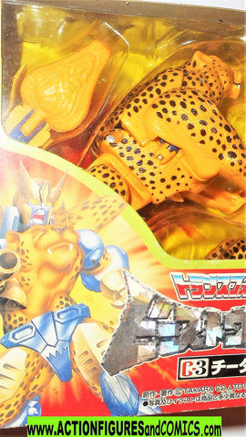 Transformers beast wars CHEETOR 1996 1998 takara green eyes cheetah moc mib