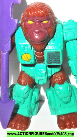 Battle Beasts OSIFIED ORANGATANG 1986 vintage hasbro #76 transformers
